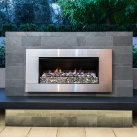 outdoor gas fire contemporary outdoor LED lighting