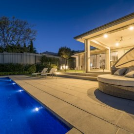 alfresco pool paving